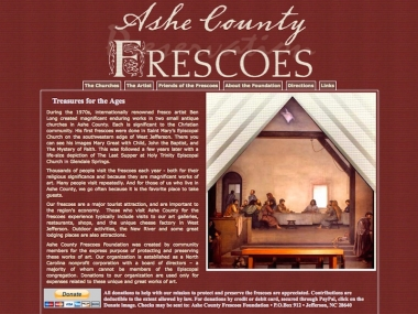Ashe County Frescoes Foundation