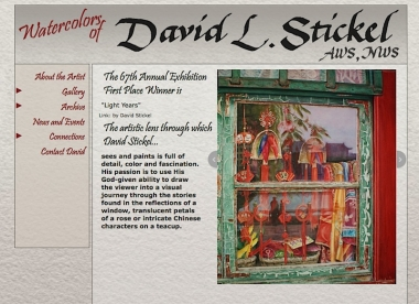 David Stickel, Watercolorist