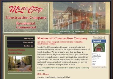 MasterCraft Log and Custom Homes